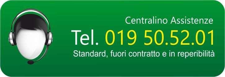 SERVIZIO DI ASSISTENZA: TEL. 019 50.52.01