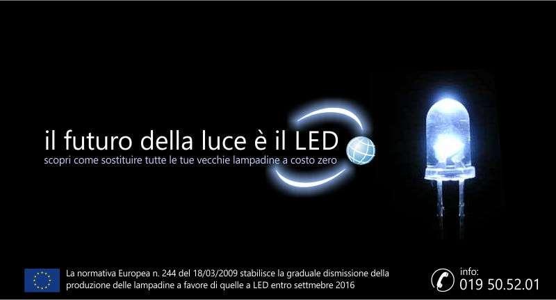 Illumina a led la tua struttura a costo zero tourist for Costo lampadine led